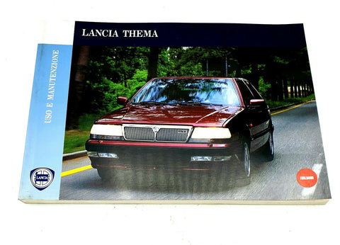 Owners Manual - Lancia Thema