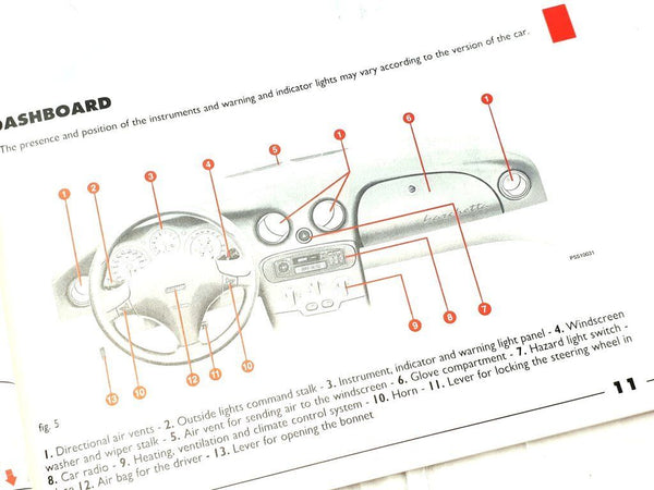 Owners Manual - Barchetta