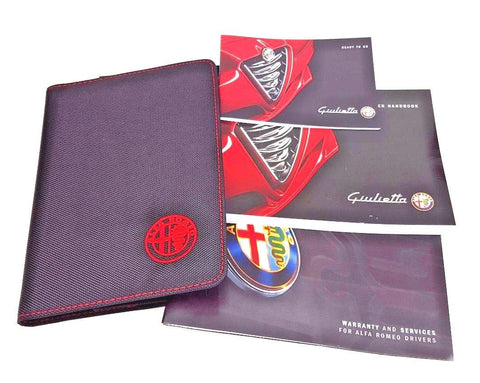 Owners Book Pack - Alfa Romeo Giulietta 2013-2016 60438600