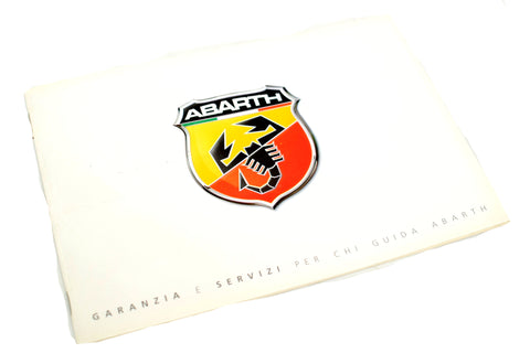 Abarth Service History Book