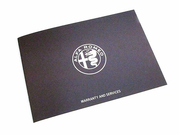 Alfa Romeo Service History Book - 44 Pages 22 Services 60491455