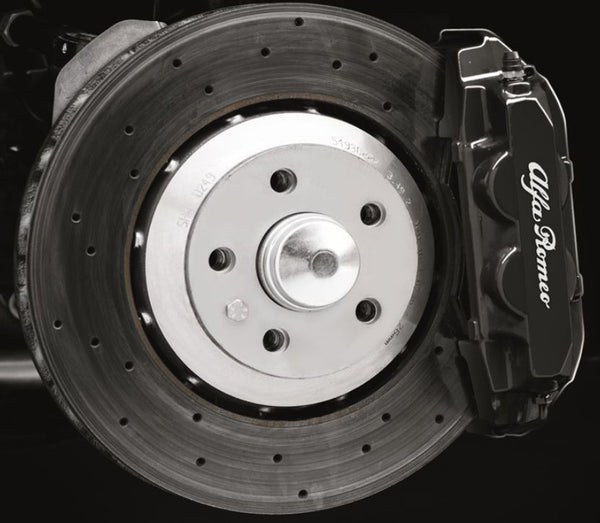 Caliper Kit, Front & Rear, Black - 4C