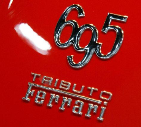 500 Abarth 695 Tributo Ferrari Badge 735524381