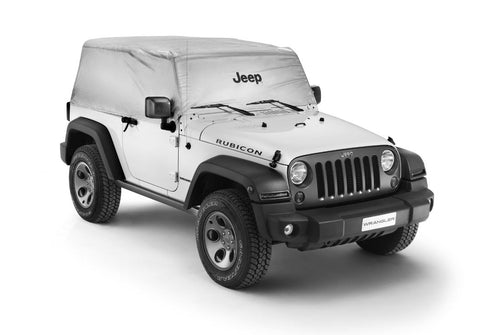 Cab Cover, Outdoor - Wrangler 2 Door