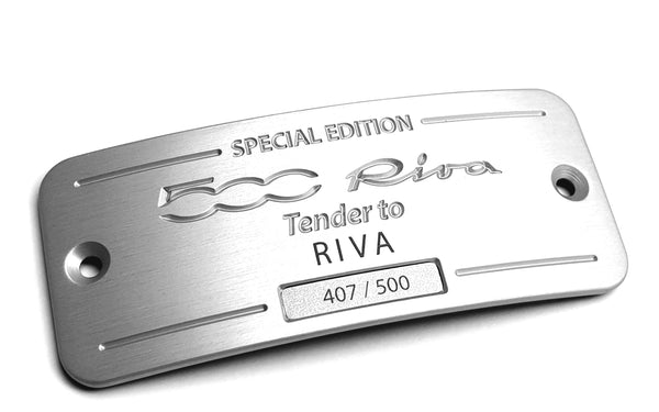 '500 Riva' special Edition Plate' 261/500