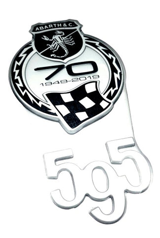 Badge, Abarth 595 70th anniversary