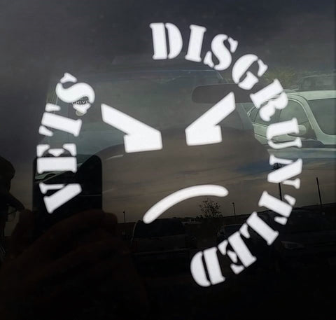 Disgruntled Vet Window Decal