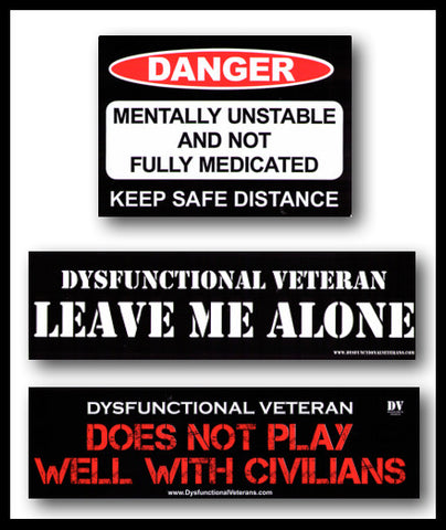 DV Bumper Sticker Pack - D