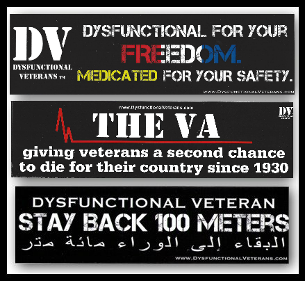 DV Bumper Sticker Pack - A