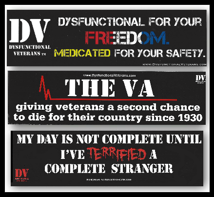 DV Bumper Sticker Pack - B