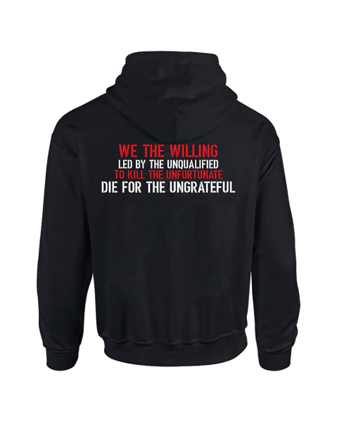 """We the Willing"" Hoodie"