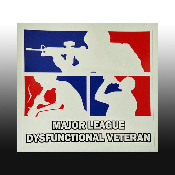 MAJOR LEAGUE DV (BONG) Bumper Sticker