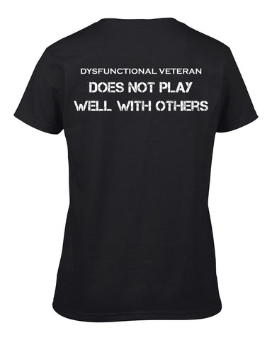 DOES NOT PLAY WELL T-Shirt (Female)
