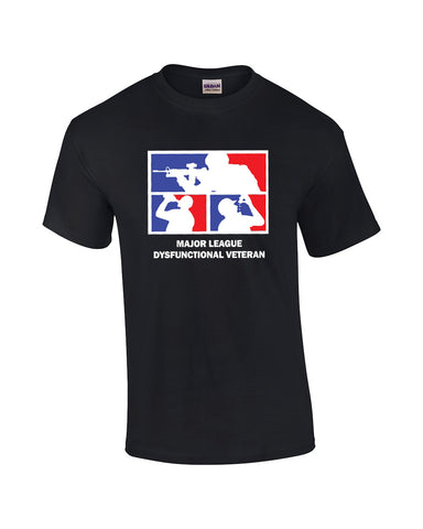 *Clearance Item*  MAJOR LEAGUE DYSFUNCTIONAL VETERAN T-Shirt