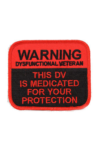 MEDICATED FOR YOUR PROTECTION Patch