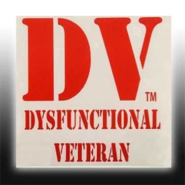 DV Window Decal