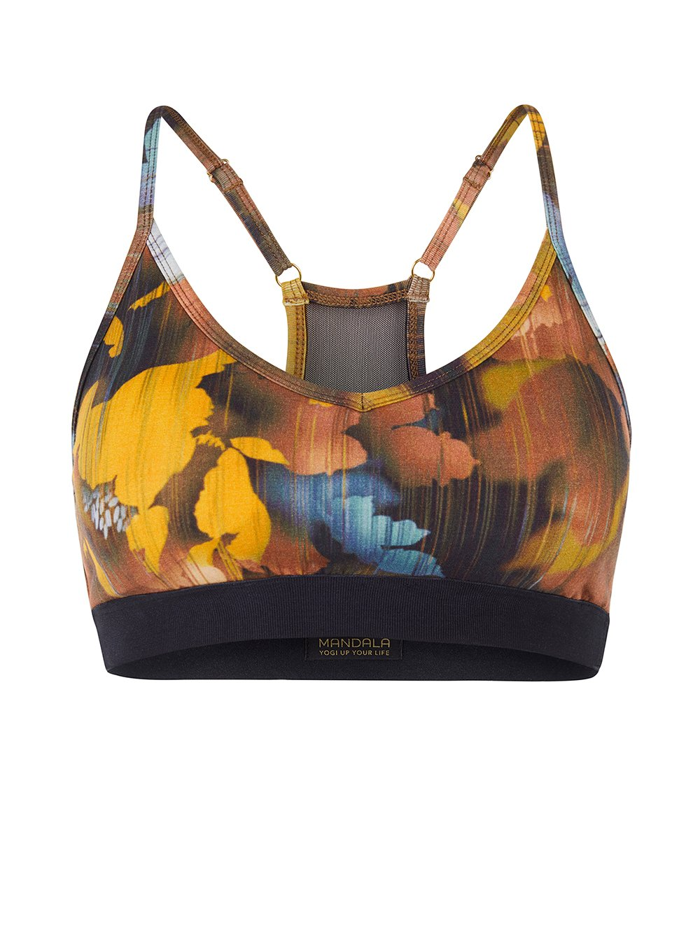 Mesh Bra Canadian Autumn