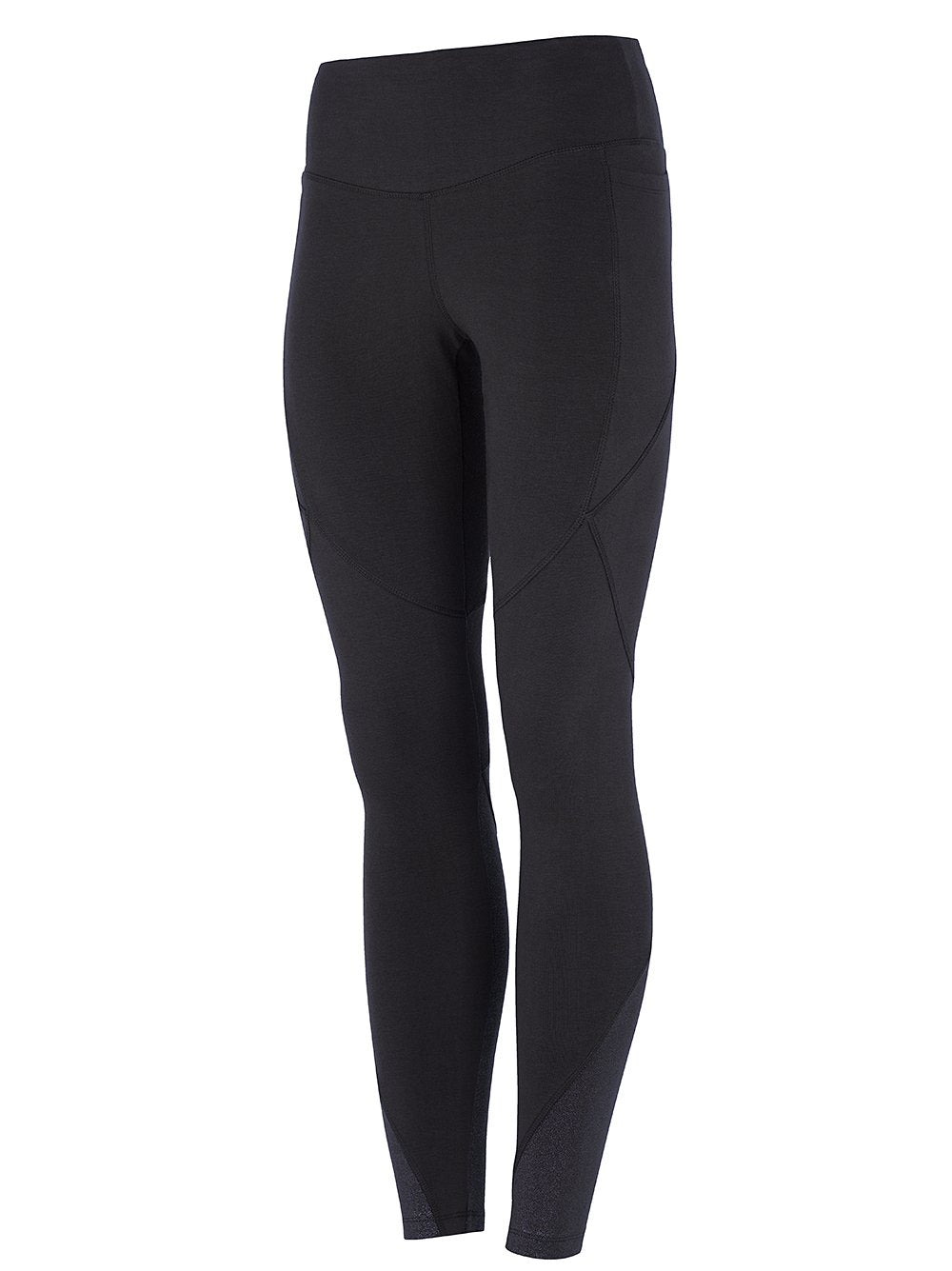 High Waist Glamour Legging Black