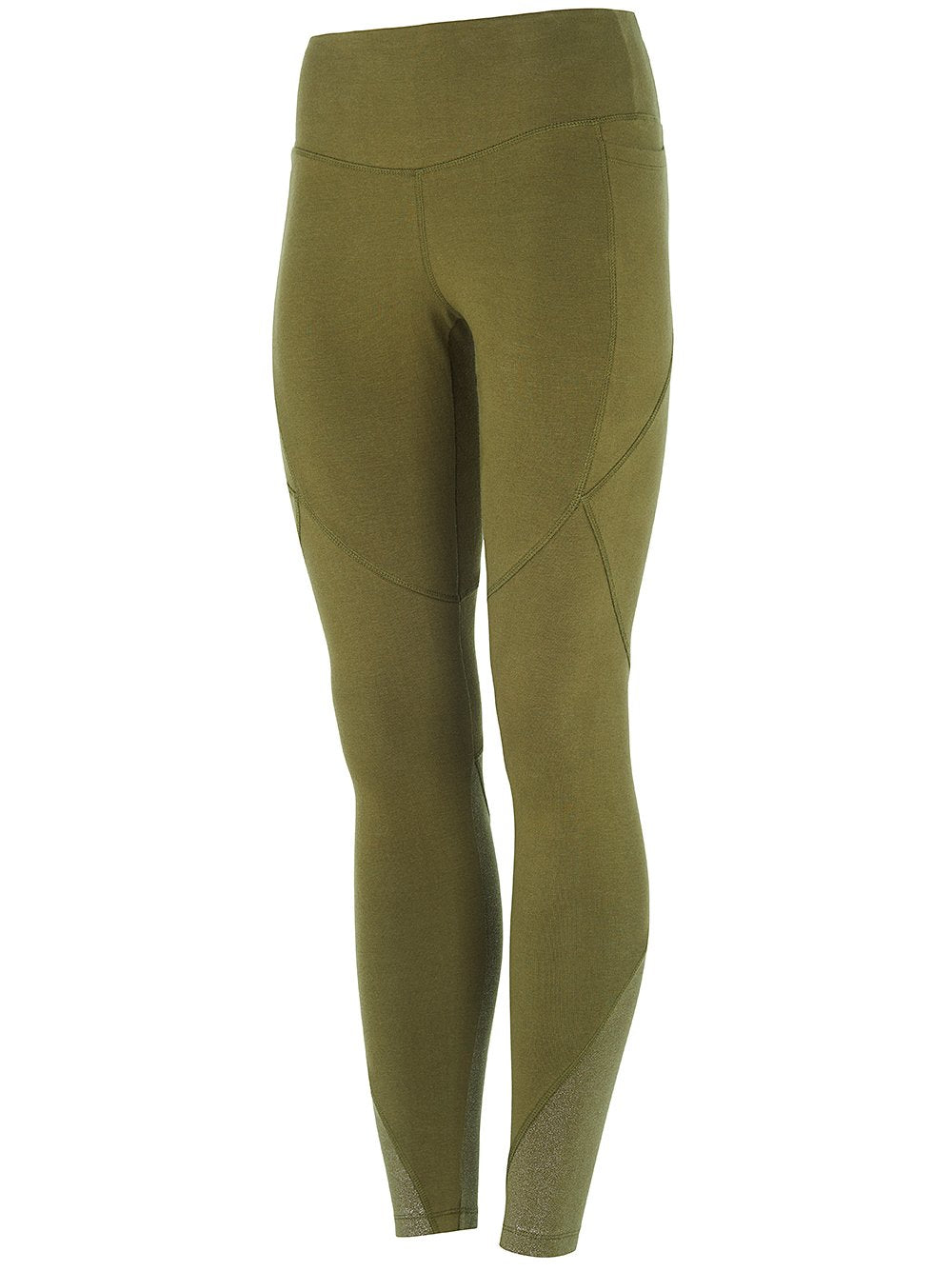 High Waist Glamour Legging Forest