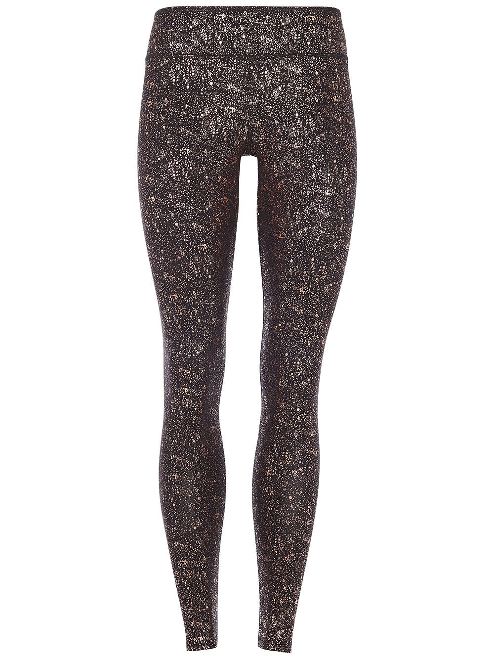 High Rise Sparkling Legging Black