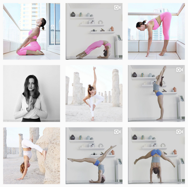5 Instagram Yoginis we love: @jessicaolie