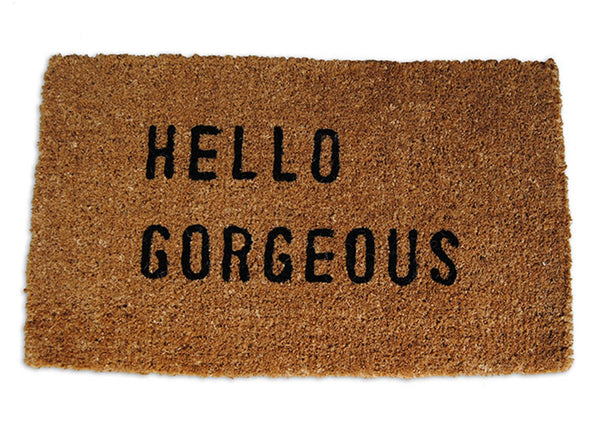 Door Mat - Hello Gorgeous