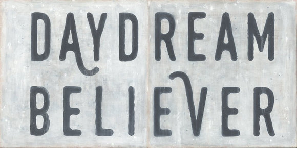 Daydream Believer Black and White Wall Art by Sugarboo