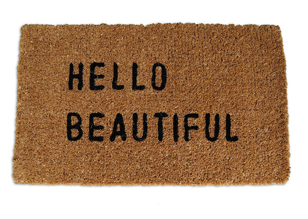 Door Mat - Hello Beautiful