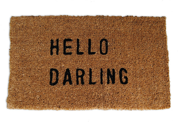 Door Mat - Hello Darling