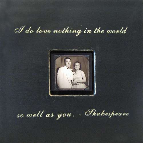 I Do Love Nothing In The World Shakespeare Quote Picture Frame by Sugarboo