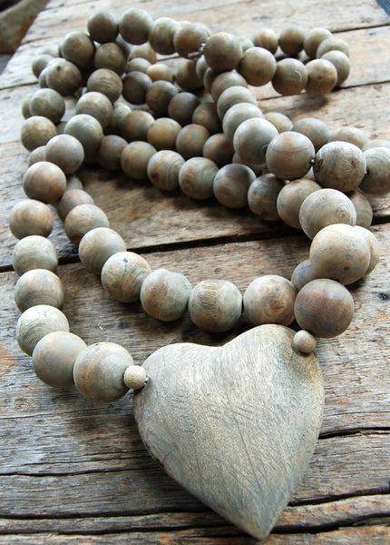 Prayer Beads - Heart | Rebecca Puig
