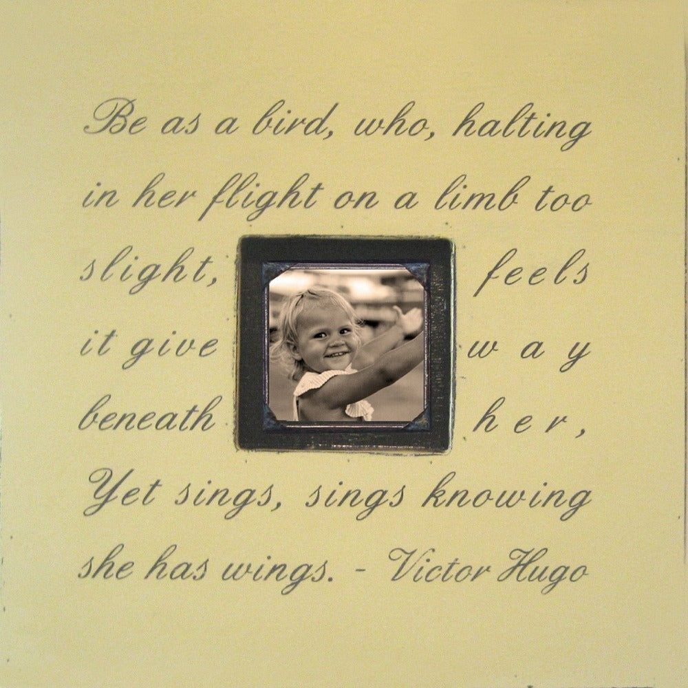 Be As A Bird Photobox Picture Frame Sugarboo Designs