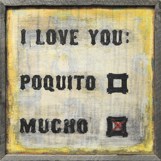I Love You Poquito
