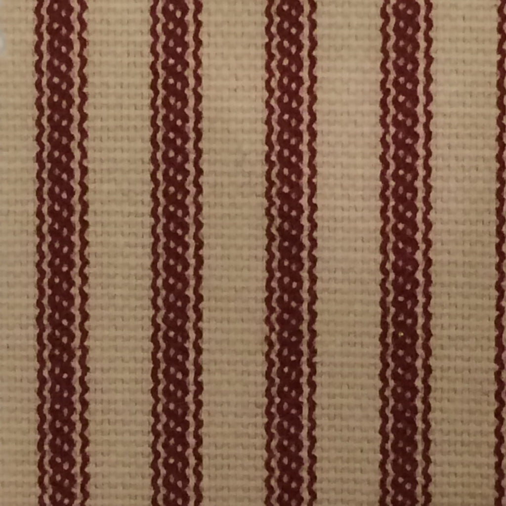 Ticking Stripe Shower Curtain Black, Brown, Grey, Navy, Red  72x72 or custom size