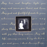 May Love and Laughter Quote Picture Frame by Sugarboo