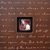 May The Road Rise Up Quote Picture Frame by Sugarboo