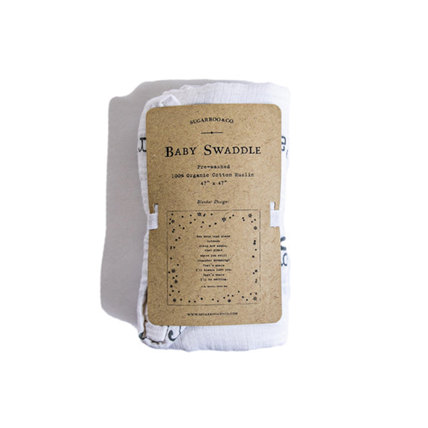 Swaddle Blanket Peter Pan | IN STOCK for immediate shipment