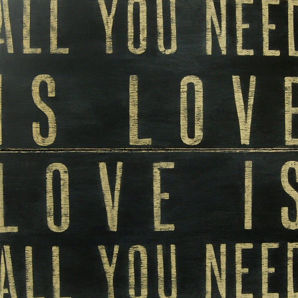 All You Need Is Love Art Print Sugarboo Designs