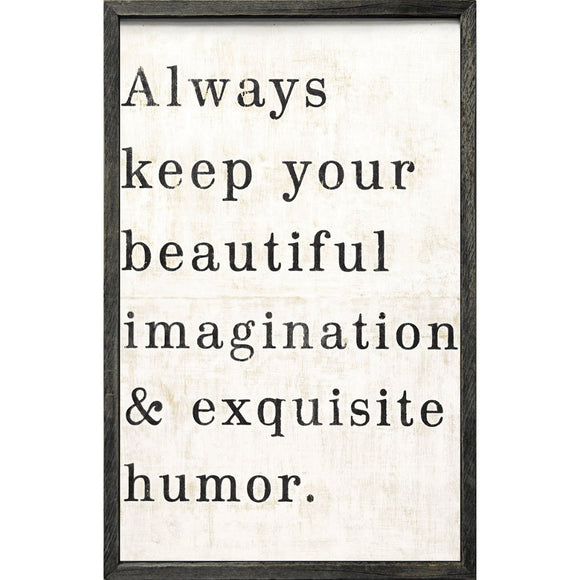 Always Keep Your Beautiful Art Print Sugarboo Designs