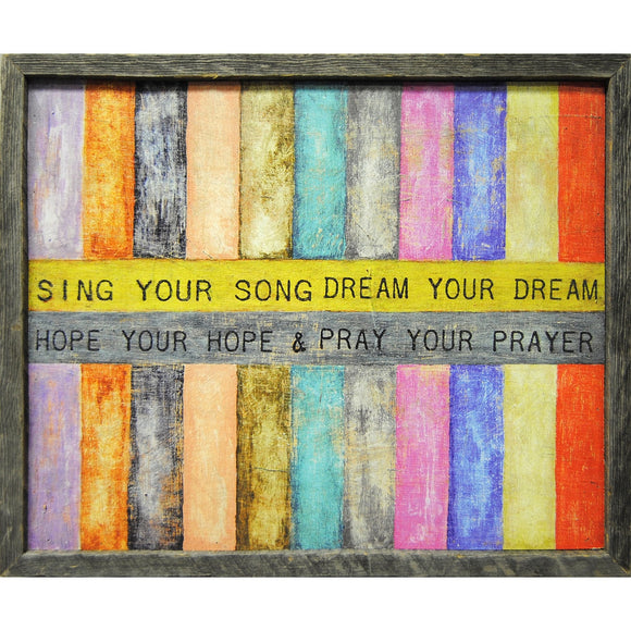 Sing your Song Wall Art