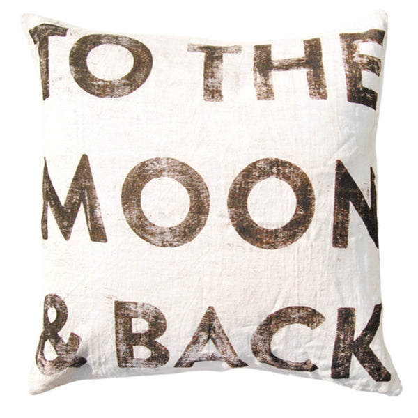 Sugarboo To The Moon Throw Pillow