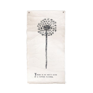 There Is So Much Hope - Botanical Wall Tarp
