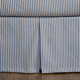 Ticking Stripe Bed Skirt | 5 Colors Available