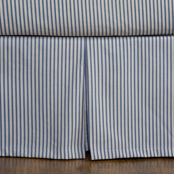 Ticking Stripe Bed Skirt 5 Colors Available Daniel Dry