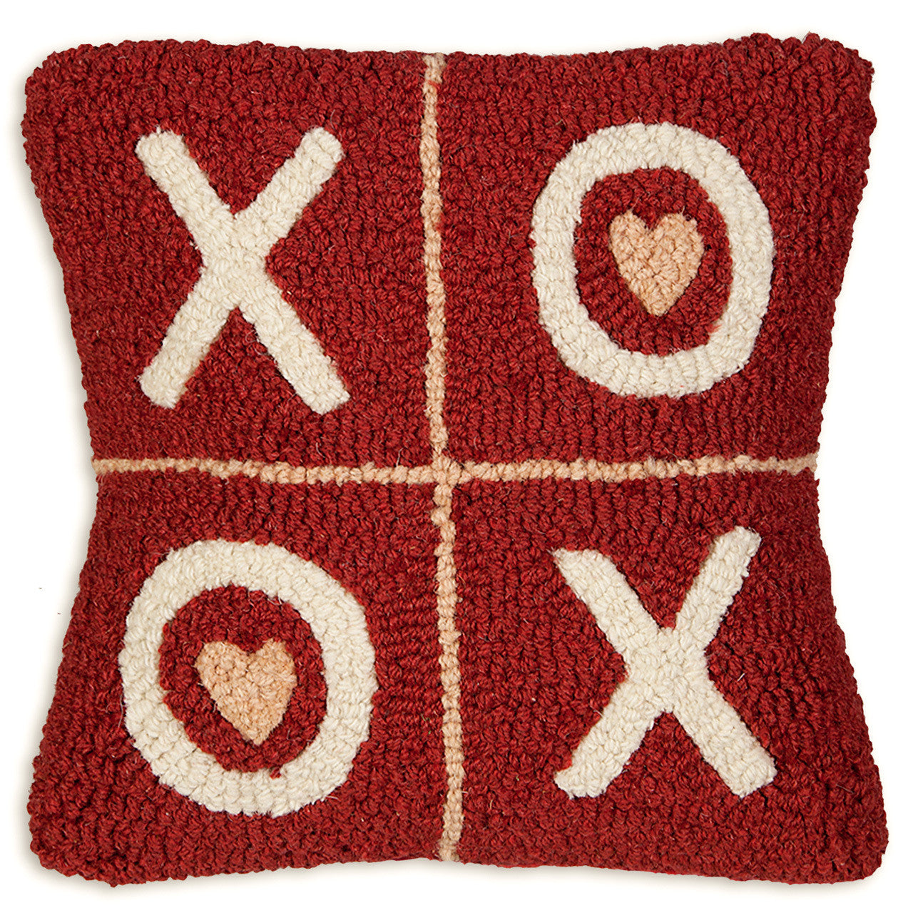 XOXO Hooked Pillow Daniel Dry Goods