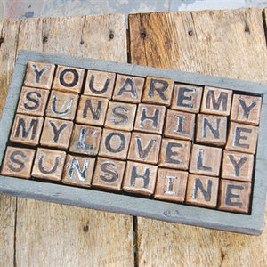 You Are My Sunshine Blocks