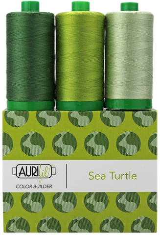 Aurifil Colour Builders - Sea Turtle