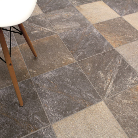 Napoles Tile with Designer Chair