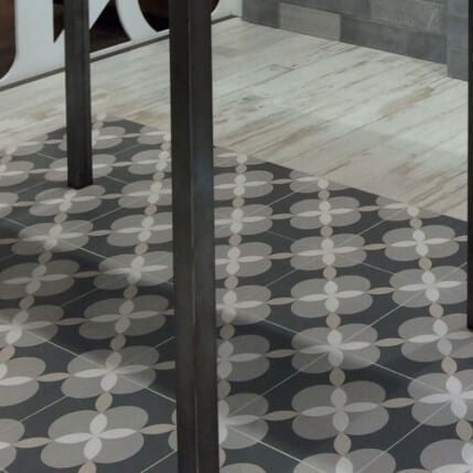 Atelier Geo Patterned Floor Tiles