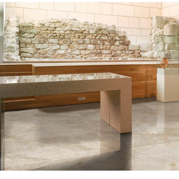 Gemmas Amber Polished Glazed Porcelain Floor Tile